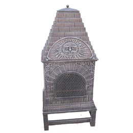Cast Iron Chiminea (FSL039) , Metal Pizza Oven pictures & photos