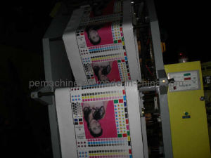 High Speed 4 Colors Flexographic Printing Machine (CE) pictures & photos