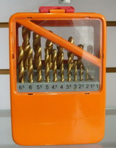 19PCS HSS Twist Drills Set-2