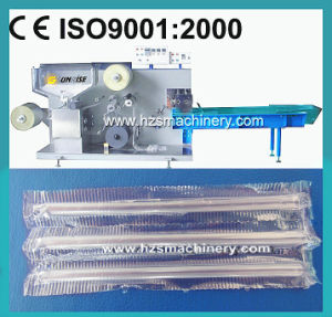 I Shape Single Drinking Straw Packing Machine pictures & photos