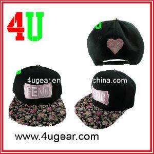 Custom 6-Panel Snapback Hat for Girls, Leisure Cap, Sports Cap