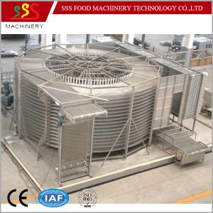 Single Double Spiral Freezer Blast Freezing Machine with Ce