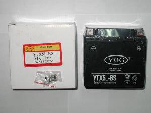 Motorcycle Free Maintenance Battery / Libre Mantenimito Bateria (YTX5L-BS) pictures & photos