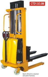 Semi Electric Stacker pictures & photos