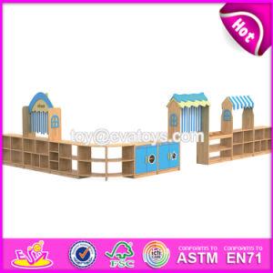 Best Wholesale Kindergarten Toy Storage Wooden Kids Storage Shelves W08c195 pictures & photos