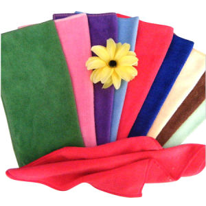100% Microfiber Hand Towel in Various Colors pictures & photos