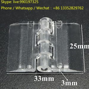 Door Window Clear PMMA Acrylic Folding Hinge Plexiglass Hinge pictures & photos