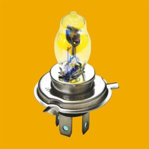 H4 P43t Pear Shape Bulb, Motorcycle Bulb for Auto Parts pictures & photos