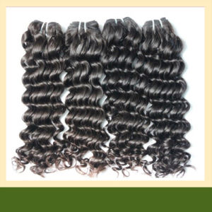 Indian Remy Hair Extension /100% Human Hair Weaving (ZYWEFT-46)