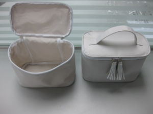Promotional Traveling Nylon Toiletry Cosmetic Bag (MS7022) pictures & photos