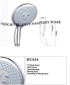 ABS Hand Shower, Shower Head, New Style Shower (HY034) pictures & photos