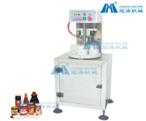 Semi-Automatic Glass Bottles Vacuum Capping Machine pictures & photos