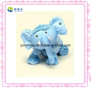 Cute Blue Elephant Plush Toy pictures & photos