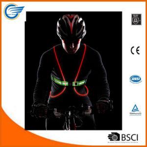 Multicolored LED Fiber Optics Vest for Biking pictures & photos