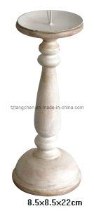 Wood Candle Holder (TC-1812G011)