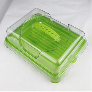 Green Plastic Square Cold Boxes pictures & photos