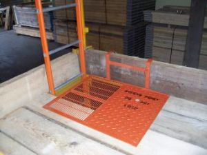 Steel Ladder Trap Door for Scaffolding Accessories
