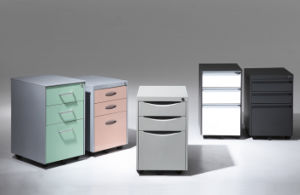 3 Drawer Office Mobile Filing Cabinets pictures & photos