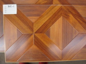 Popular Color Competitive Price Moasic HDF Laminate Flooring pictures & photos
