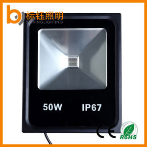 CRI>80 Waterproof 20W 50W 100W COB Floodlight Aluminum LED Flood Lamp pictures & photos