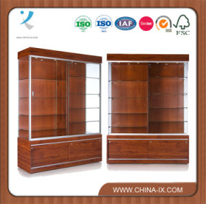 Large Wall Display Case with Tempered Glass pictures & photos