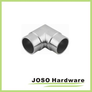 90 Degree Stainless Handrail Tube Corner Elbow Connectors (HS505) pictures & photos