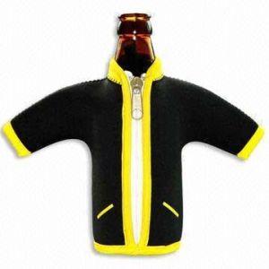Neoprene Coat - Shaped Bottle Cooler (SS-0154)