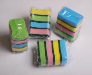 Shape Sponge Scourer (8006) pictures & photos