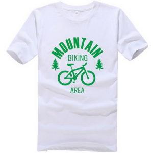 Manufacturer Wholesale Slim Fit White Cotton T Shirt pictures & photos