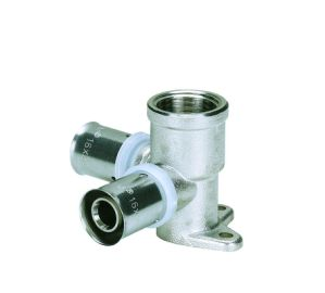 Wall-Plated Female Elbow (Hz8203) U Press Fittings pictures & photos