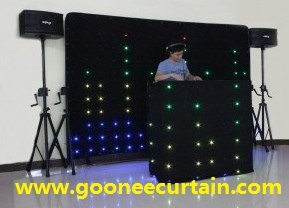 LED DJ Curtain\LED Video Vision Curtain