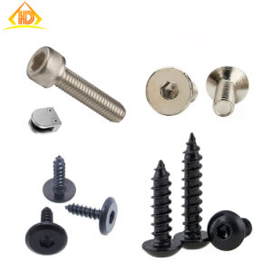 ISO7380 Stainless Steel 304 Button Socket Head Machine Screw pictures & photos