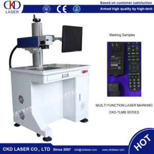 20W Fiber Laser Deep Engraving Machine to Engrave on Metal Color pictures & photos