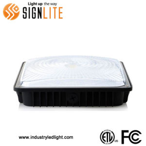 Waterproof Garage Lighting LED Canopy Light With UL Driver Philips Lumileds 3030