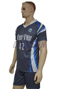 Manufacturer Customized Cheap Sublimation Team/ Club Football Kits (S028) pictures & photos