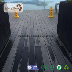 Hot Sale Wood Grain Brown Waterproof Outdoor WPC Flooring pictures & photos