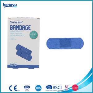 Made in China Metal Detectable Blue Bandage pictures & photos