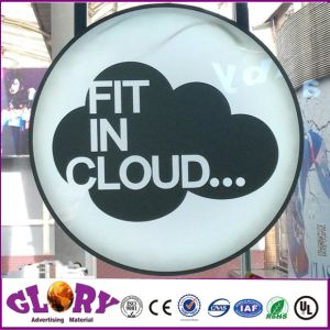 Round Light Box Acrylic Signage LED Sign pictures & photos