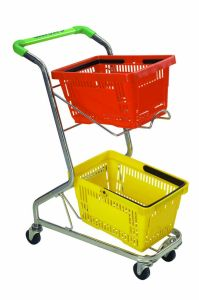 Shopping Basket Trolley (Carts) pictures & photos