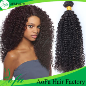 Wholesale Human Kinky Curly Virgin Remy Hair pictures & photos