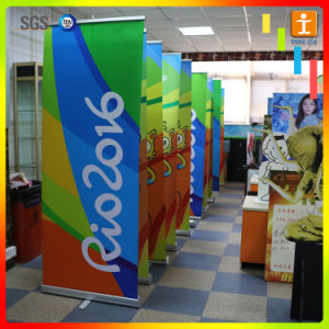 Portable Retractable Roll up Pull up Banner Stand for Display pictures & photos