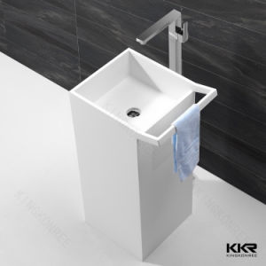 2017 Washroom Vessel Sink Stone Molded Basin pictures & photos