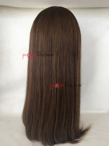 Human Hair Full Lace Jewish Wig (PPG-c-0117) pictures & photos
