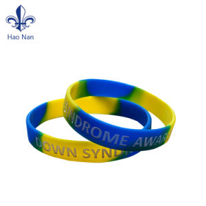 Wholesale Custom Cheap Debossed Silicone Wristband for Event pictures & photos