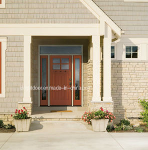 Modern Style Security Sound Insulation Solid Wooden Door for American pictures & photos