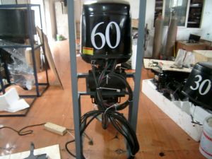Hongjun 4 Stroke 60HP Outboard Engine for Diesel and Gasoline pictures & photos
