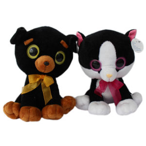 Promotional Big Eyes Animal Plush Toy for Boys pictures & photos