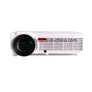 Professional High Brightness Portable Full HD WiFi Android LED 3D Home Movie Video Projector pictures & photos