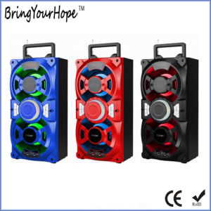 LED Light Portable Wooden Speaker with Bluetooth (XH-PS-727) pictures & photos
