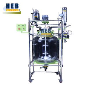 EXheb-80L Ex-Proof Jacketed Glass Reactor with Heating Bath pictures & photos